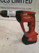 Hilti XBT-4000-A 18V Drywall ScrewdriverÂ