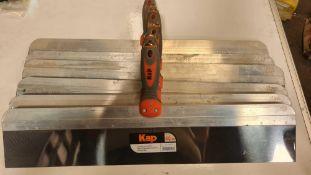 6x kap 60cm taping knife