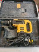 Dewalt sds hammer drill d25820 110volts