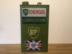 BP Motor Oil Can
