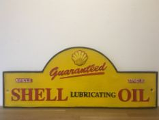 Shell Oil Cast Iron Sign