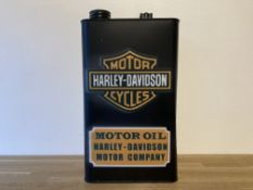Harley Davidson Motorcycle Oil Can