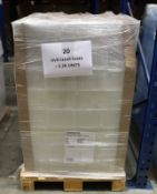 10 x Pallets of un-used Blu ray Cases and DVD Cases