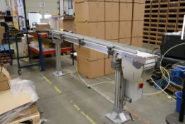 1 x FlexLink X180 Conveyor with Mitsubishi D700 Motor