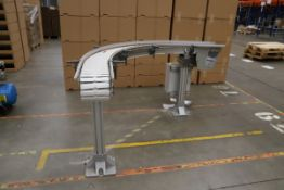 FlexLink X180 Curved Conveyor with Mitsubishi D700 Motor