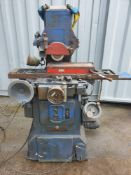 Jones & Shipman 1400 Surface Grinder Magnetic Table Power Rise & Fall