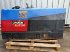 Lincoln electric ranger 305d multi-process diesel engine driven welder.