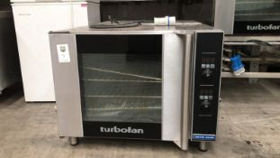 Blue Seal Turbofan Oven Appraisal:Used Model No:E31D4