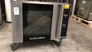 Blue Seal Turbofan Oven Appraisal:Used Model No: E31D4