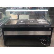 ZERO RESERVE Igloo Heated Servery with glass surround NST64174