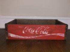Coca Cola Storage Crate