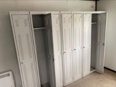 Lockers x 5