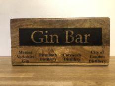 Gin Bar Storage Box