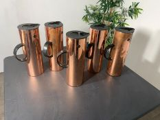 Copper Flasks (5)