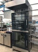 Miwe Double Stack Bakery Convection Oven with Hood