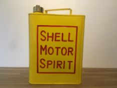 Shell Typeface Oil Can