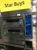 Bakers Pride Double Deck Pizza oven.