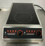 VALERA CT-70A INDUCTION HOB 2 ZONE 7KW