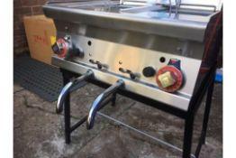 Lotus Fryer LPG or Natural Gas