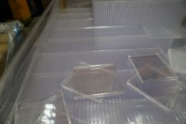 1 xPallet of Single CD Cover Cases Clear.