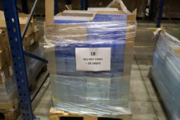 1 x Pallet of Clear Blu ray Cases