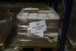 1 x Pallet of White Blu ray Cases