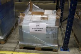 1 x Pallet of Clear DVD Cases