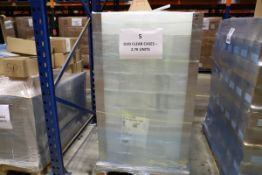 1 x Pallet of New inner clear DVD trays