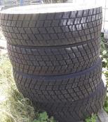 2 x Truck Tyres