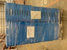 1 Pallet of 100 Blue Industrial Totes.