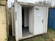 Anti Vandal Steel Portable Toilet Block