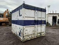 Anti Vandal Steel Storage Container