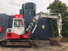 Takeuchi TB180FR Midi Excavator 2014