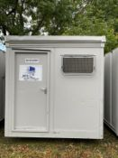 8ft x 8ft Twin Shower Block Cabin Container