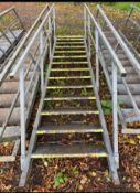 13 Tread Steel Steps External Staircase
