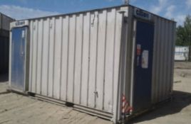 16ft x 9ft 3 + 1 Portable Toilet Office