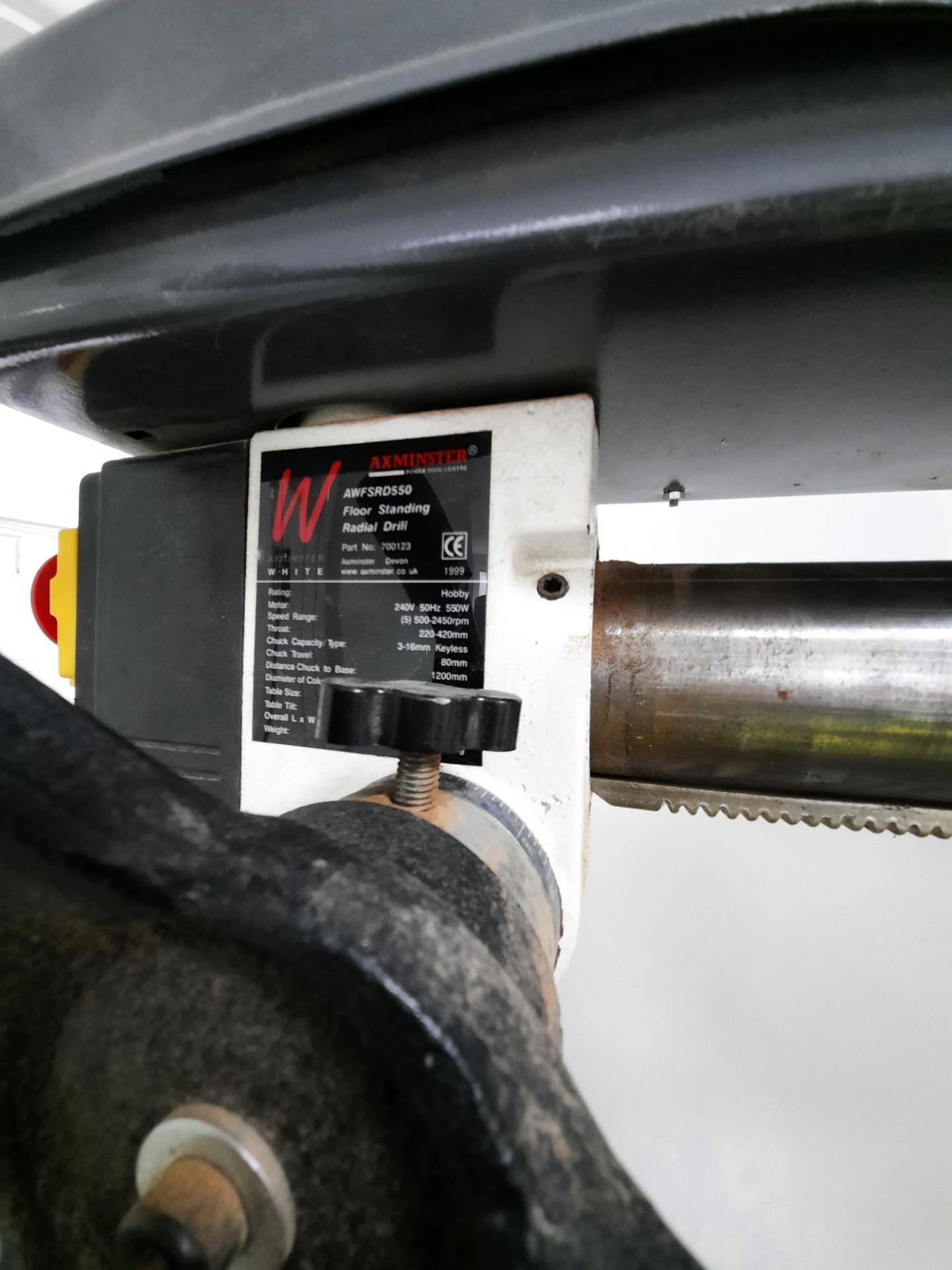 Lot 148 - Axminster Radial Pillar Drill