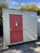 8ft X 8ft Disabled Toilet Block, Site Cabin
