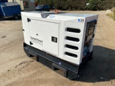 SDMO R22 Diesel Generator Super Silent 2013