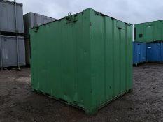 Anti Vandal Steel Portable Office 10ft x 8ft