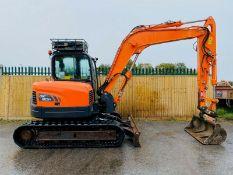 Doosan DX80 Excavator 2012