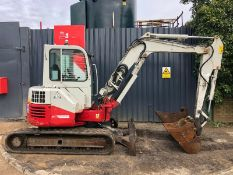 Takeuchi TB153FR Mini Excavator 2014
