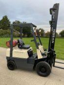 Nissan Gas 1.5 T Forklift Truck
