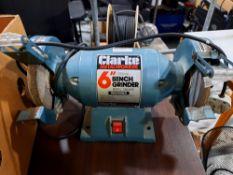 Clarke International Metalworker CBG 6 RC Bench Grinder