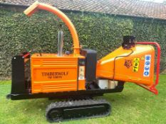 Tracked Wood Chipper Timberwolf TW 150VTR