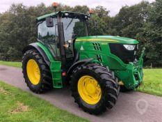 2012 (62) John Deere 6140R Tractor