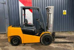 Jungheinrich DFG 430 Diesel Forklift 2014