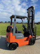 Toyota Gas Forklift Truck