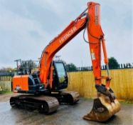 Hitachi ZX130 LCN-6 Excavator / Dumper 2017