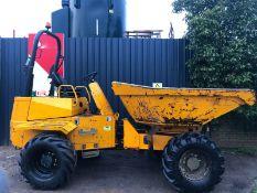 Thwaites 6 Tonne Swivel Tip Dumper 2010 4x4